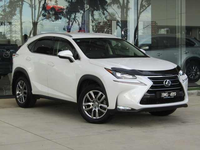 Used Lexus NX AGZ10R NX200t 2WD Luxury Ravenhall, 2017 Lexus NX AGZ10R NX200t 2WD Luxury White 6 Speed Sports Automatic Wagon