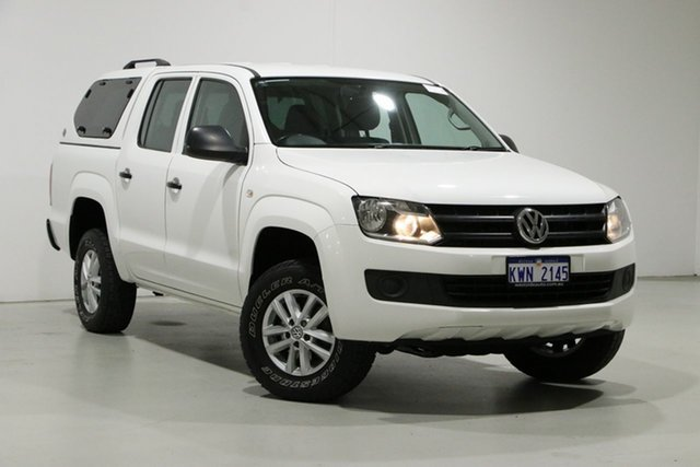 Used Volkswagen Amarok 2H MY16 TDI420 Core Edition (4x4) Bentley, 2016 Volkswagen Amarok 2H MY16 TDI420 Core Edition (4x4) White 8 Speed Automatic Dual Cab Utility