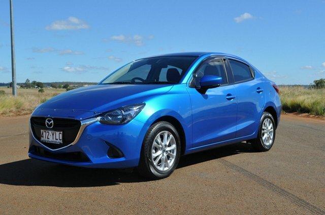 Used Mazda 2 DL MY17 Maxx Kingaroy, 2018 Mazda 2 DL MY17 Maxx Blue 6 Speed Automatic Sedan