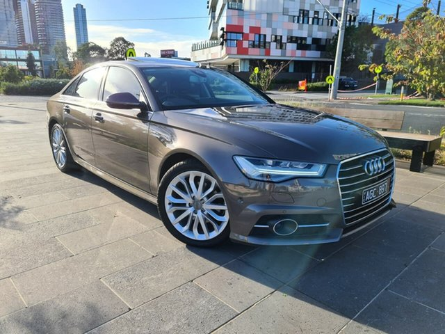 Used Audi A6 4G MY16 S Line S Tronic South Melbourne, 2015 Audi A6 4G MY16 S Line S Tronic Grey 7 Speed Sports Automatic Dual Clutch Sedan