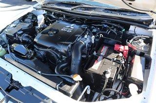 2012 Mitsubishi Triton MN MY13 GLX 4x2 White 4 Speed Sports Automatic Cab Chassis
