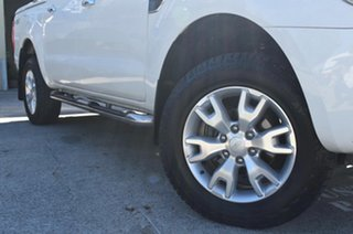 2014 Ford Ranger PX XLT 3.2 (4x4) White 6 Speed Automatic Dual Cab Utility