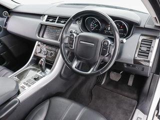 2015 Land Rover Range Rover LW MY15 Sport 3.0 TDV6 SE White 8 Speed Automatic Wagon