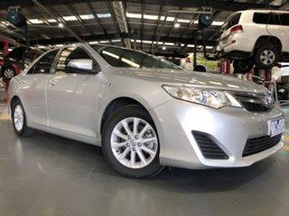 2014 Toyota Camry AVV50R Hybrid H Silver Pearl 1 Speed Constant Variable Sedan Hybrid.