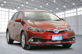2015 Toyota Corolla ZRE182R Ascent Sport S-CVT Red 7 Speed Constant Variable Hatchback.