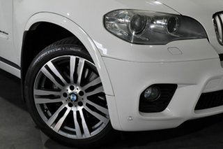 2011 BMW X5 E70 MY11 xDrive40d Steptronic Sport White 8 Speed Sports Automatic Wagon.