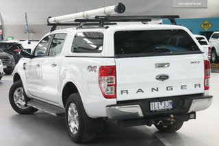 2017 Ford Ranger PX MkII MY17 XLT 3.2 (4x4) Frozen White 6 Speed Automatic Double Cab Pick Up.