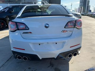 2016 Holden Special Vehicles ClubSport Gen-F2 MY16 R8 LSA White 6 Speed Manual Sedan.