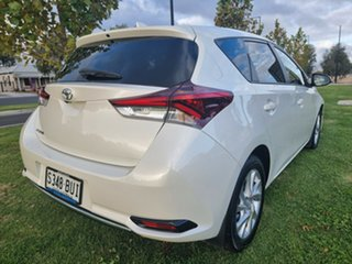 2018 Toyota Corolla ZRE182R Ascent Sport White 6 Speed Manual Hatchback.