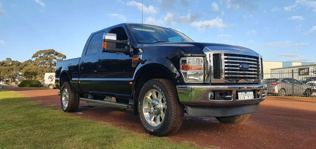 Used Ford F350 Melton, 2010 Ford F350 (No Series) Lariat Black Automatic Utility