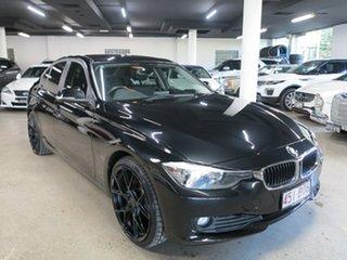 2013 BMW 3 Series F30 MY0813 318d Black 8 Speed Automatic Sedan.