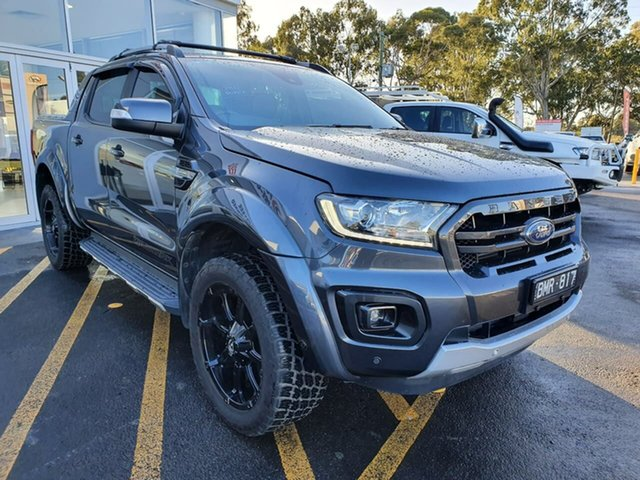 Used Ford Ranger PX MkIII 2019.75MY Wildtrak Epsom, 2019 Ford Ranger PX MkIII 2019.75MY Wildtrak Grey 10 Speed Sports Automatic Double Cab Pick Up