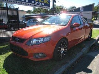 2012 Ford Falcon FG MK2 XR6 Limited Edition Orange 6 Speed Auto Seq Sportshift Utility.