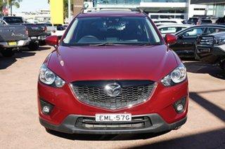 2014 Mazda CX-5 MY13 Upgrade Akera (4x4) Red 6 Speed Automatic Wagon
