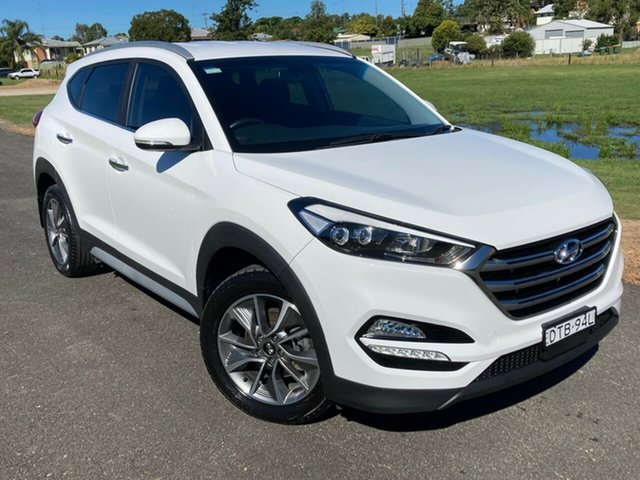 Pre-Owned Hyundai Tucson TLe MY17 Elite 2WD South Grafton, 2017 Hyundai Tucson TLe MY17 Elite 2WD White 6 Speed Sports Automatic Wagon