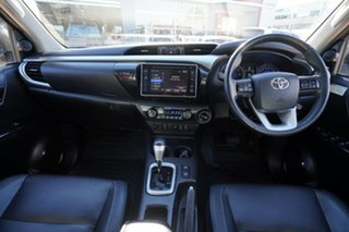 2017 Toyota Hilux GUN126R MY17 SR5 (4x4) Silver 6 Speed Automatic X Cab Utility