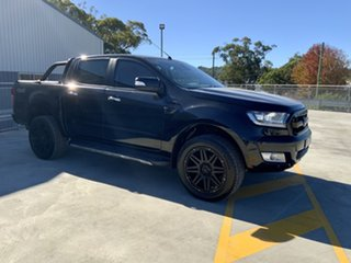 2017 Ford Ranger PX MkII 2018.00MY XLT Double Cab Black 6 Speed Sports Automatic Utility.