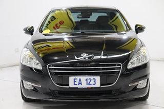 2013 Peugeot 508 Allure Black 6 Speed Sports Automatic Sedan.