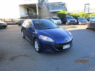 2009 Mazda 3 BK MY08 Maxx Sport Blue 5 Speed Manual Hatchback.