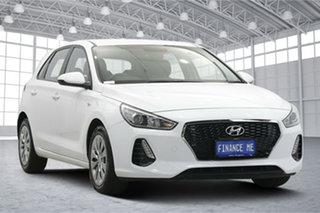 2019 Hyundai i30 PD.3 MY20 Go White 6 Speed Sports Automatic Hatchback.