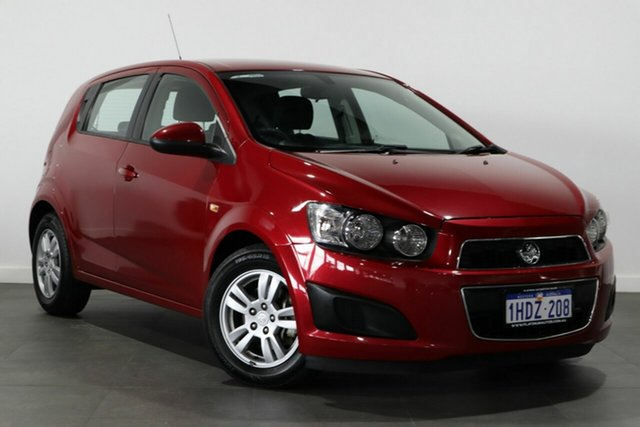 Used Holden Barina TM MY13 CD Bayswater, 2012 Holden Barina TM MY13 CD Red 6 Speed Automatic Hatchback