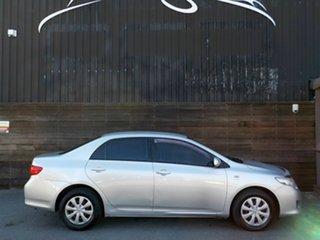 2008 Toyota Corolla ZRE152R Ascent Silver 4 Speed Automatic Sedan.