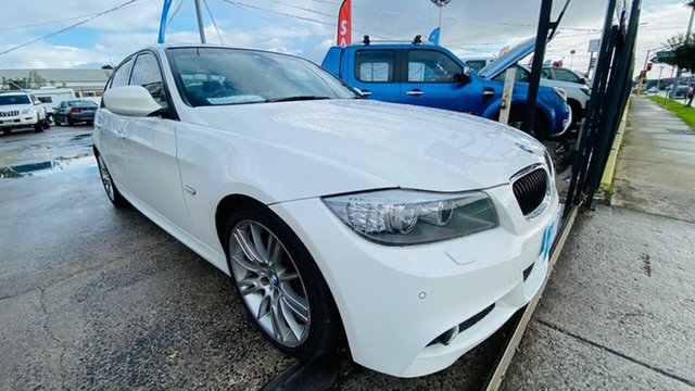 Used BMW 3 Series E90 MY10.5 320i Steptronic Lifestyle Maidstone, 2010 BMW 3 Series E90 MY10.5 320i Steptronic Lifestyle White 6 Speed Sports Automatic Sedan