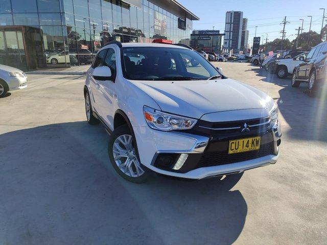 Used Mitsubishi ASX XC MY19 ES 2WD Liverpool, 2019 Mitsubishi ASX XC MY19 ES 2WD White 1 Speed Constant Variable Wagon