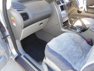 2006 Ford Territory SY Ghia AWD Silver 6 Speed Sports Automatic Wagon