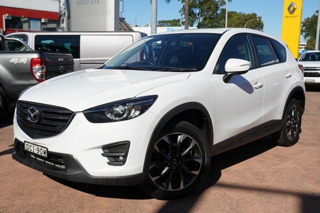 Used Mazda CX-5 MY13 Upgrade Grand Tourer (4x4) Brookvale, 2015 Mazda CX-5 MY13 Upgrade Grand Tourer (4x4) White 6 Speed Automatic Wagon