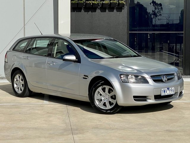 Used Holden Commodore VE MY09 Omega Sportwagon Templestowe, 2008 Holden Commodore VE MY09 Omega Sportwagon Silver 4 Speed Automatic Wagon