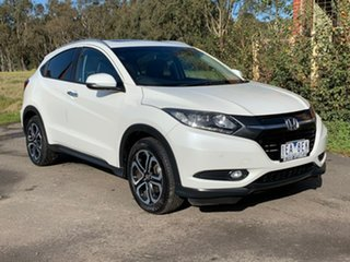 2015 Honda HR-V (No Series) VTi-L White Constant Variable Hatchback.