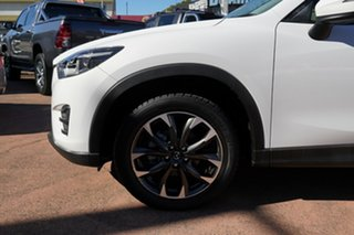 2015 Mazda CX-5 MY15 GT (4x4) White 6 Speed Automatic Wagon.