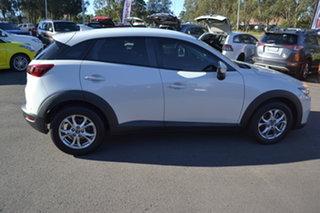 2015 Mazda CX-3 DK2W7A Maxx SKYACTIV-Drive Ceramic White 6 Speed Sports Automatic Wagon