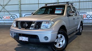 2009 Nissan Navara D40 ST-X Silver 5 Speed Automatic Utility.