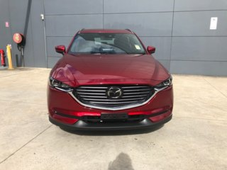 2021 Mazda CX-8 KG2WLA Touring SKYACTIV-Drive FWD Soul Red Crystal 6 Speed Sports Automatic Wagon.