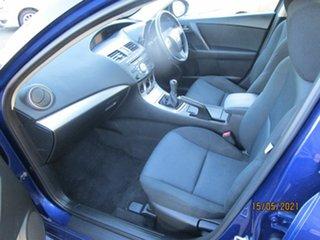 2009 Mazda 3 BK MY08 Maxx Sport Blue 5 Speed Manual Hatchback