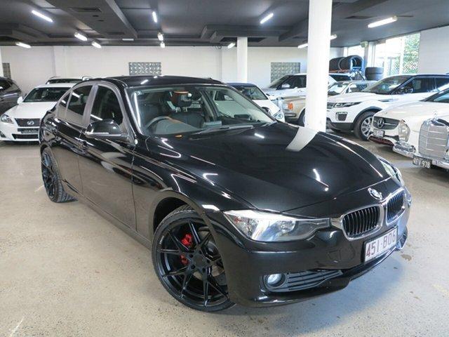 Used BMW 3 Series F30 MY0813 318d Albion, 2013 BMW 3 Series F30 MY0813 318d Black 8 Speed Automatic Sedan