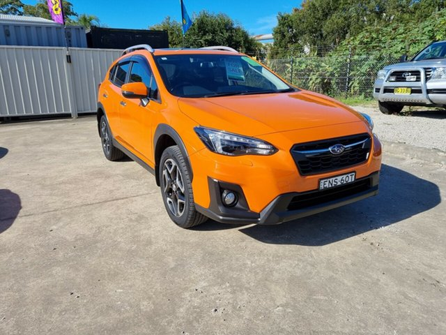 Used Subaru XV G5X MY18 2.0i-S Lineartronic AWD Glendale, 2018 Subaru XV G5X MY18 2.0i-S Lineartronic AWD Orange 7 Speed Constant Variable Wagon
