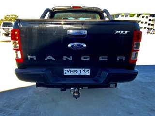 2017 Ford Ranger PX MkII 2018.00MY XLT Double Cab Black 6 Speed Sports Automatic Utility
