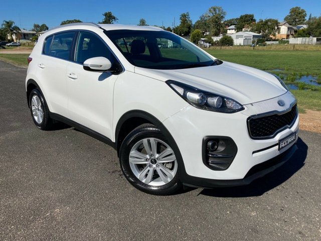 Pre-Owned Kia Sportage QL MY18 Si 2WD South Grafton, 2018 Kia Sportage QL MY18 Si 2WD White 6 Speed Sports Automatic Wagon