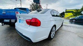 2010 BMW 3 Series E90 MY10.5 320i Steptronic Lifestyle White 6 Speed Sports Automatic Sedan