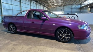 2006 Ford Falcon BF XR6 Ute Super Cab Purple 4 Speed Sports Automatic Utility.