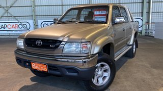 2004 Toyota Hilux VZN167R MY04 SR5 4 Speed Automatic Utility.
