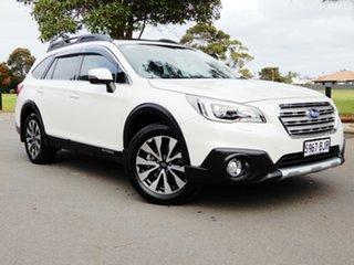 2015 Subaru Outback B6A MY15 2.5i CVT AWD Premium White 6 Speed Constant Variable Wagon.