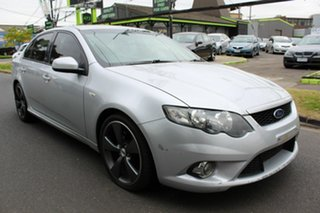 2009 Ford Falcon FG XR6 Silver 6 Speed Sports Automatic Sedan.