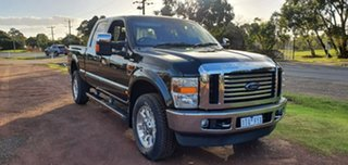 2010 Ford F350 (No Series) Lariat Black Automatic Utility.