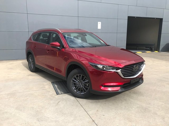 New Mazda CX-8 KG2WLA Touring SKYACTIV-Drive FWD Alexandria, 2021 Mazda CX-8 KG2WLA Touring SKYACTIV-Drive FWD Soul Red Crystal 6 Speed Sports Automatic Wagon