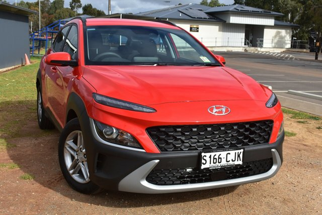 Demo Hyundai Kona Os.v4 MY21 2WD St Marys, 2020 Hyundai Kona Os.v4 MY21 2WD Ignite Flame 8 Speed Constant Variable Wagon