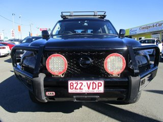 2013 Nissan Patrol Ti-L (4x4)Y62 Black Wagon